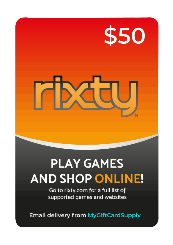 Buy Roblox Gift Card With Rixty Buy Rixty Gift Cards Email Delivery Mygiftcardsupply