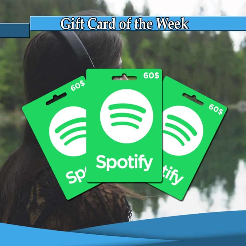 Shop Spotify 60 Gift Cards