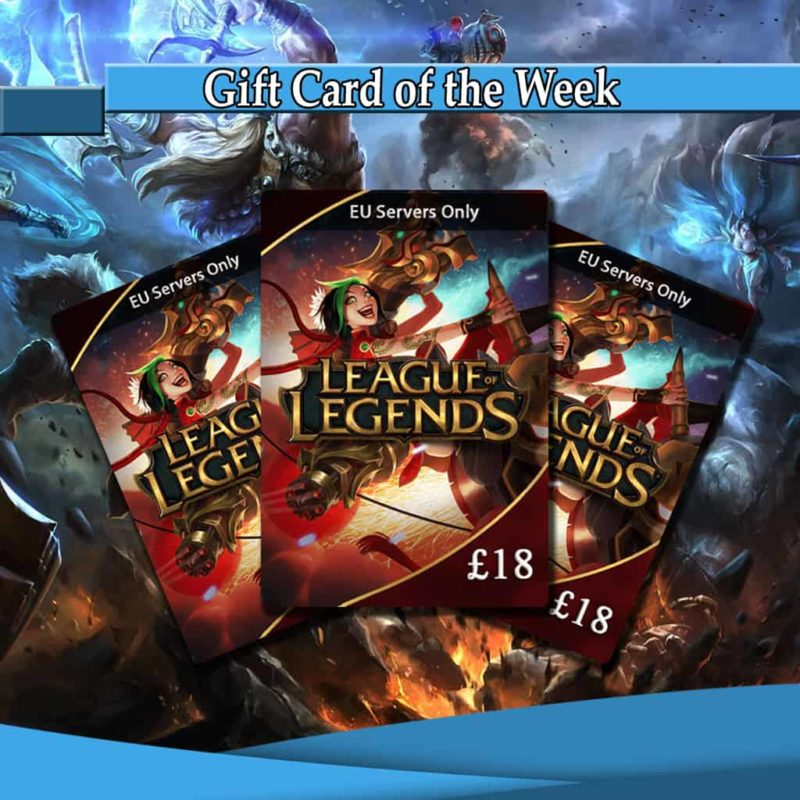 League of Legends Gift Card of the Week