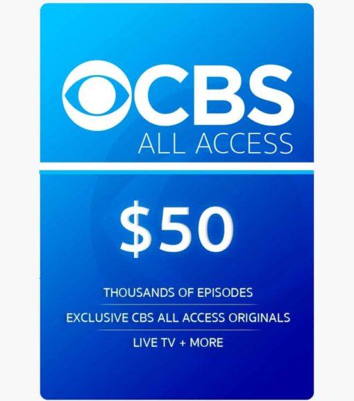 CBS 50$