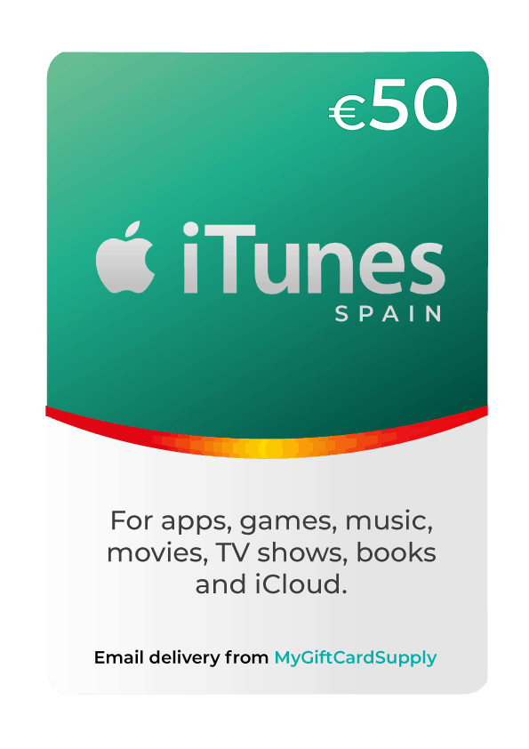 Buy Spain Itunes Gift Cards 24 7 Email Delivery Mygiftcardsupply