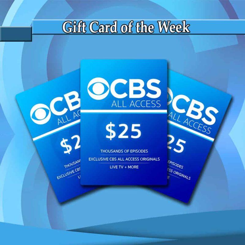 Buy CBS All Access 25 Cards