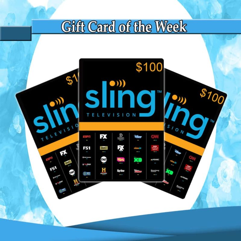 Buy Sling TV 100 Cards