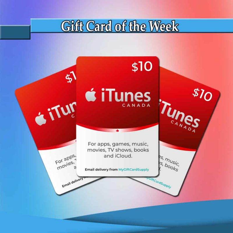 iTunes Canada Cards Thumbnail