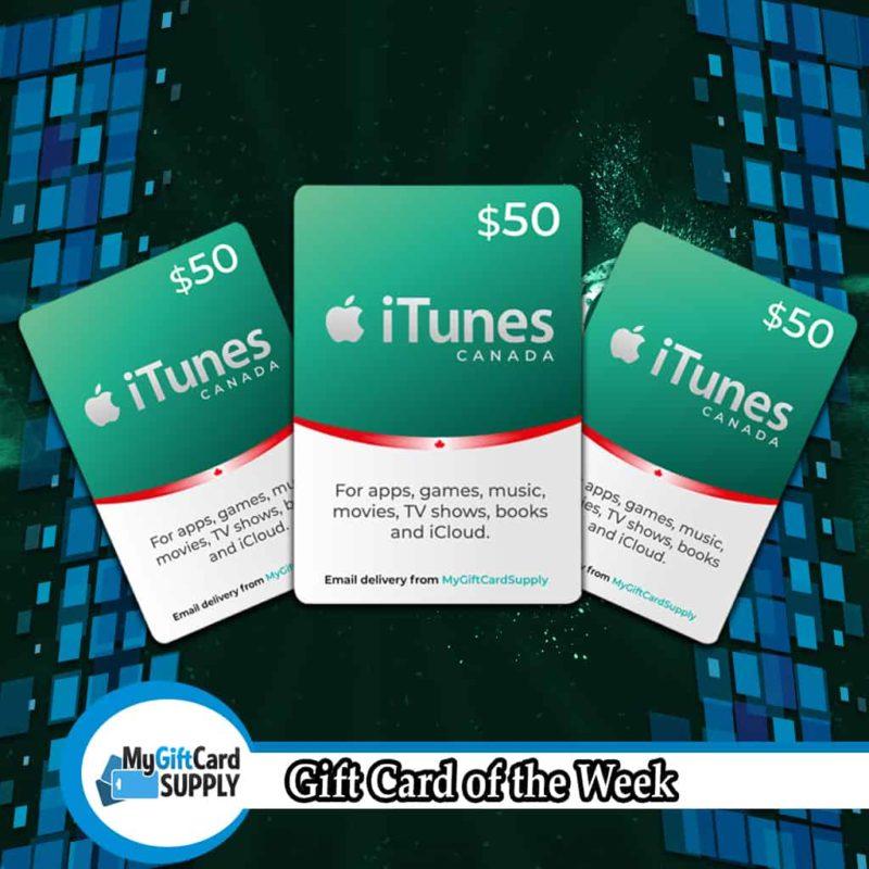 iTunes Canada 50 Cards Image