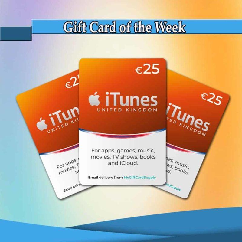 Buy UK iTunes Gift Card