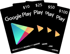 online google play store gift card