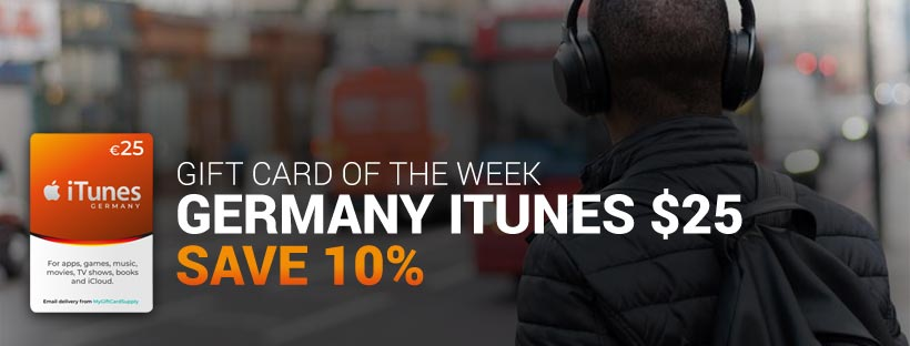 Shop Germany iTunes Gift Cards
