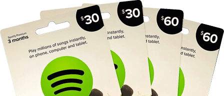 Spotify Gift Card