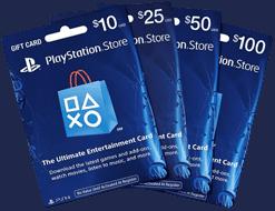 PSN Gift Cards