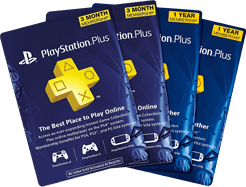 PSN Gift Cards