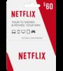 Netflix $60 Gift Card