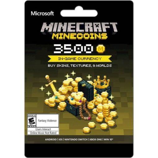 Minecraft's Minecoins: 3500 coins