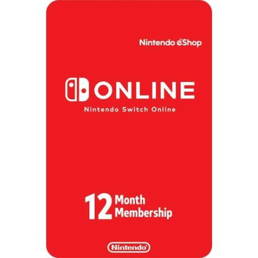 Nintendo Switch Online 12 Month Gift Card
